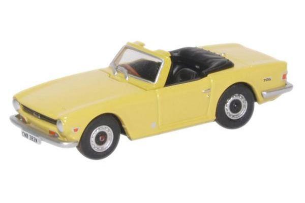 OXFORD 1/76scale Triumph TR6 Mimosa Yellow  [No.OX76TR6001]