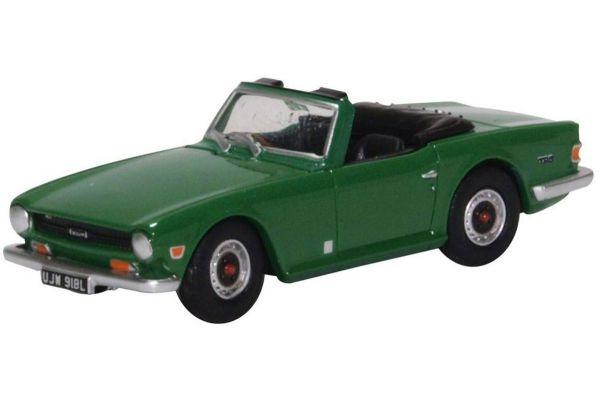 OXFORD 1/76scale Triumph TR6 Emerald Green  [No.OX76TR6003]