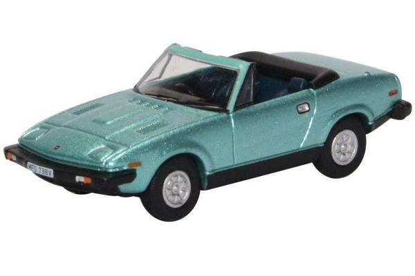 OXFORD 1/76scale Triumph TR7 Convertible Persian Aqua Metallic  [No.OX76TR7002]
