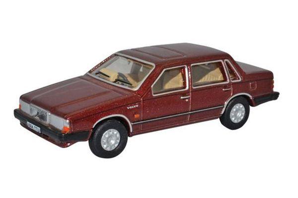 OXFORD 1/76scale Volvo 760 Redwood Metallic  [No.OX76VO002]