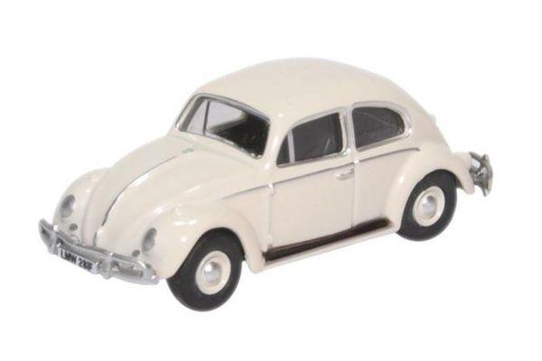 OXFORD 1/76scale VW Beetle Lotus White  [No.OX76VWB008]