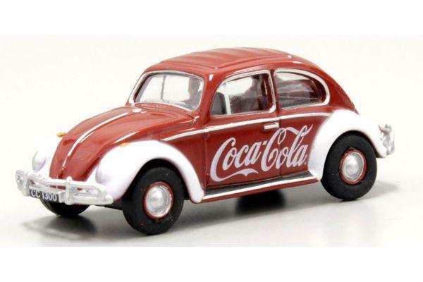 OXFORD 1/76scale VW Beetle Coca-Cola  [No.OX76VWB09CC]