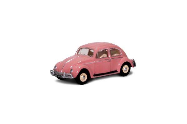 OXFORD 1/76scale VW Beetle Pink UK Reg  [No.OX76VWB11UK]