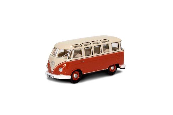 OXFORD 1/76scale VW T1 Samba Bus Sealing Wax Red Beige Grey  [No.OX76VWS001]