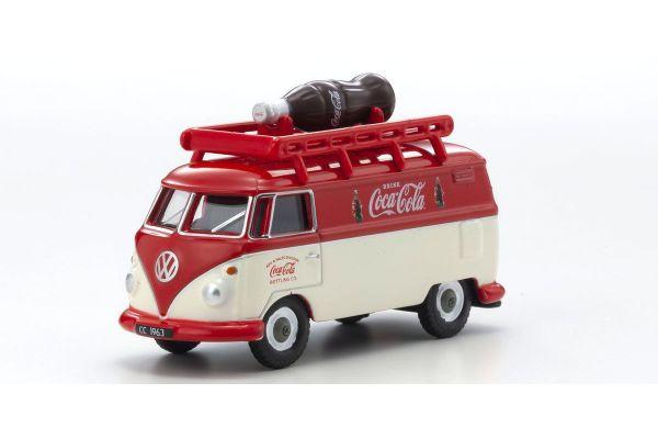OXFORD 1/76scale VW T1 Van Bottle-loaded Coca-Cola  [No.OX76VWS07CC]