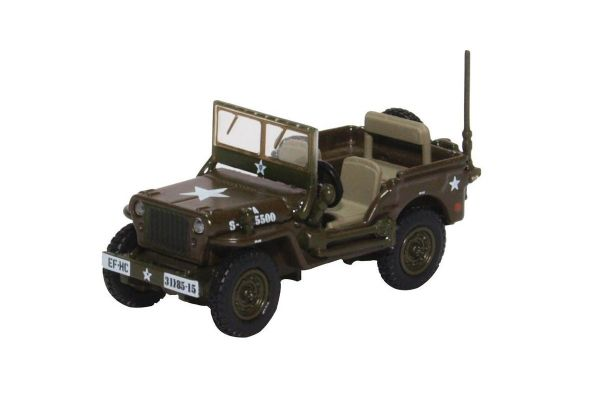 OXFORD 1/76scale Willys MB US Army  [No.OX76WMB003]