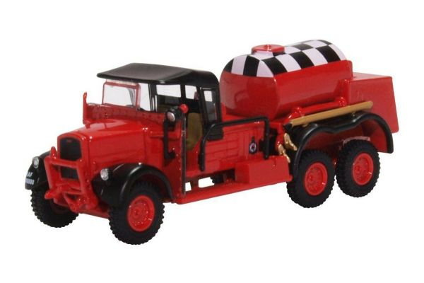 OXFORD 1/76scale Ford WOT1 Crash Tender Raf Catterick (Red)  [No.OX76WOT002]