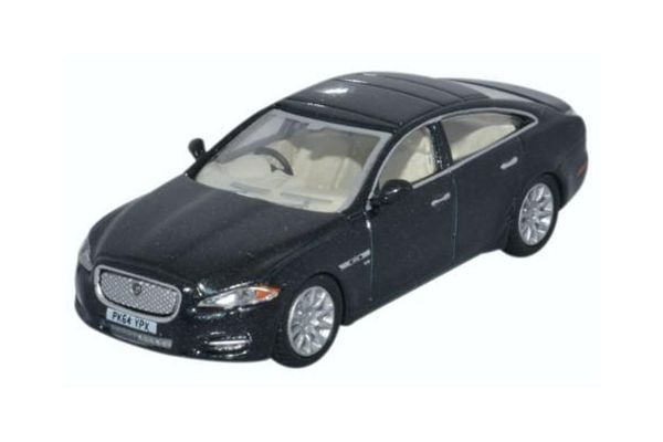 OXFORD 1/76scale Jaguar XJ (Ultimate Black)  [No.OX76XJ005]