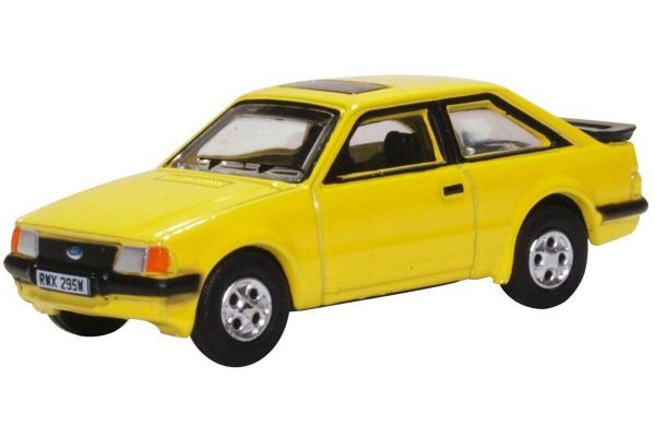 OXFORD 1/76scale Ford Escort XR3i (Preary Yellow)  [No.OX76XR007]