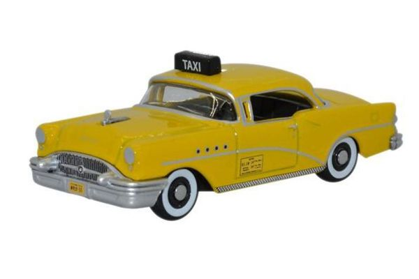 OXFORD 1/87scale Buick Century 1955 New York Taxi  [No.OX87BC55004]