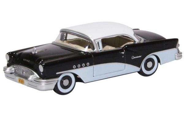 OXFORD 1/87scale Buick Century 1955 Black White  [No.OX87BC55005]