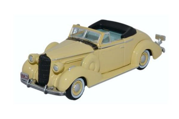 OXFORD 1/87scale Buick Special Convertible Coupe 1936 Francis Cream [No.OX87BS36002]