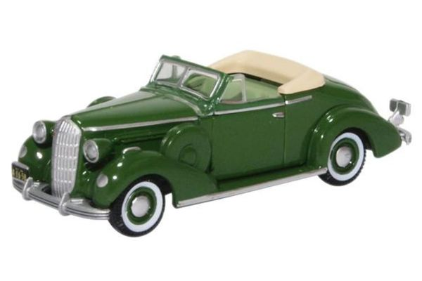 OXFORD 1/87scale Buick Special Convertible Coupe 1936 Balmoral Gree  [No.OX87BS36004]