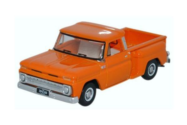 OXFORD 1/87scale Chevrolet Stepside Pick Up 1965 Orange [No.OX87CP65002]