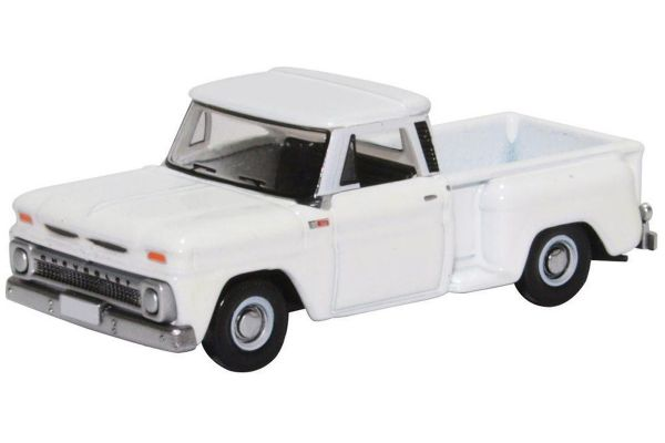 OXFORD 1/87scale Chevrolet Stepside Pick Up 1965 White  [No.OX87CP65005]