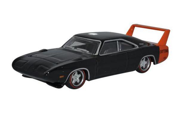 OXFORD 1/87scale Dodge Charger Daytona 1969 Black  [No.OX87DD69001]