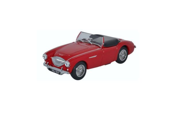 OXFORD 1/43scale Austin-Healey 100 BN1 Roof down Carmine Red  [No.OXAH1005]