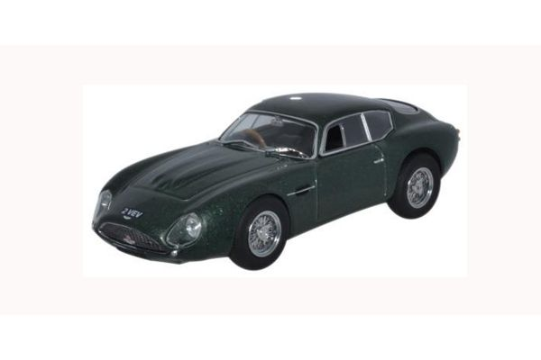 OXFORD 1/43scale Aston Martin DB4GT Zagato 2 VEV Metallic Green  [No.OXAMZ001]