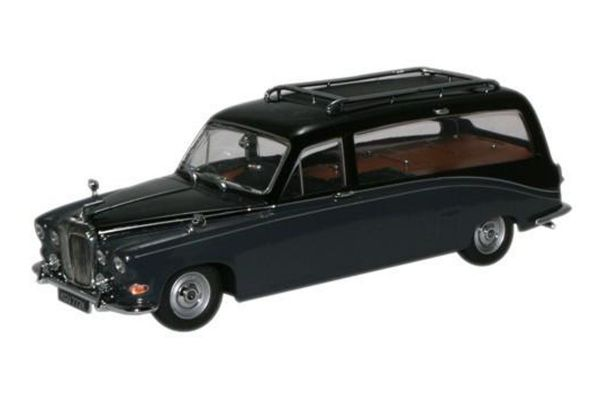 OXFORD 1/43scale Daimler Hearse Black/Carlton Grey  [No.OXDS008]