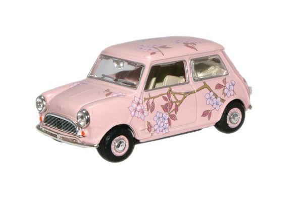 OXFORD 1/43scale Pink Floral (M & S Twiggy Advert) Mini Car   [No.OXMIN014N]