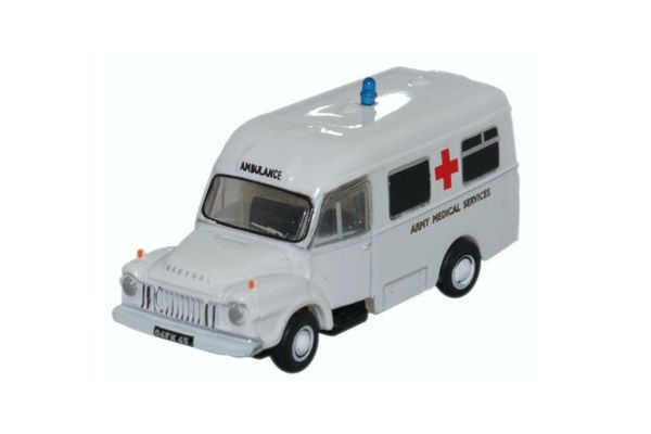 OXFORD 1/148scale Bedford JI ambulance Army Medical Services  [No.OXNBED006]