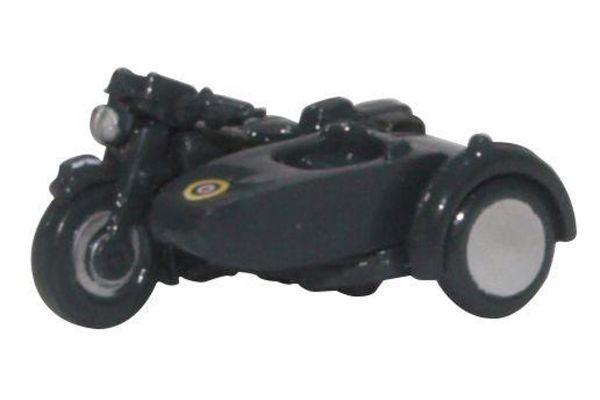 OXFORD 1/148scale Motorbike & Sidecar RAF Blue  [No.OXNBSA008]