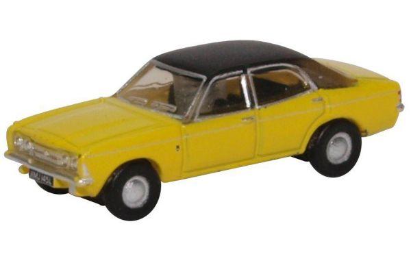 OXFORD 1/148scale Ford Cortina Mk III (Daytona Yellow)  [No.OXNCOR3002]