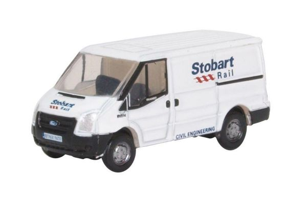 OXFORD 1/148scale Ford Transit MK5 Stobart Rail Low  [No.OXNFT012]