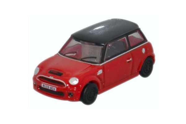 OXFORD 1/148scale New Mini Cooper S Chili Red [No.OXNNMN001]