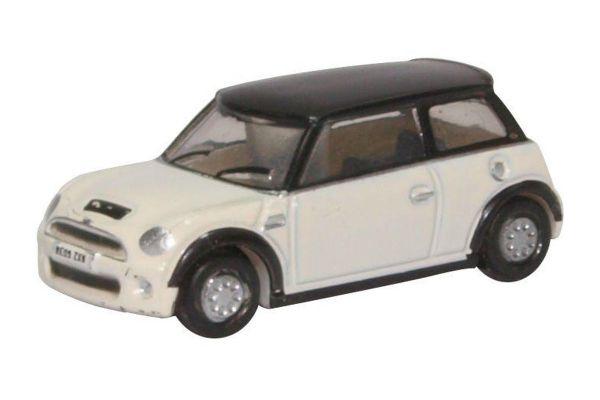 OXFORD 1/148scale New Mini Cooper S (Pepper White)  [No.OXNNMN002]