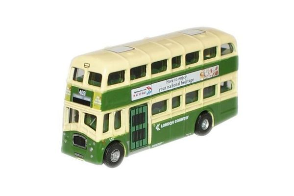 OXFORD 1/148scale London Country Queen Mary Green / Ivory  [No.OXNQM002]