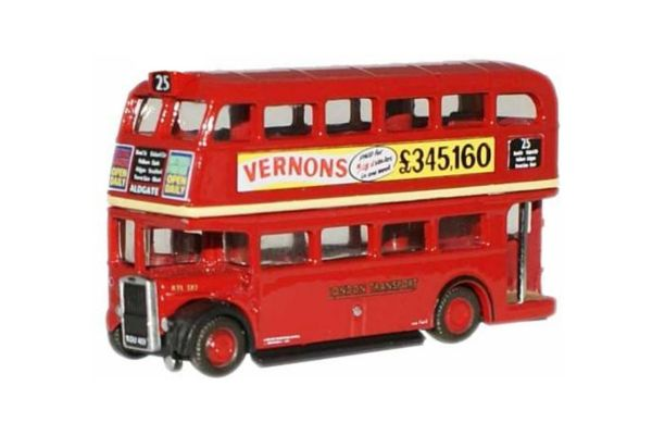 OXFORD 1/148scale London Transport RTL 2 storeys (red)  [No.OXNRTL001]