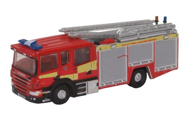 OXFORD 1/148scale Scania Pump Ladder Surrey F And R  [No.OXNSFE007]