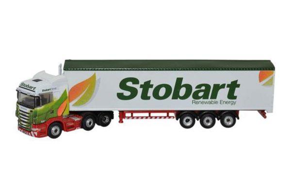 OXFORD 1/148scale Scania High Line Walking Floor Stobart Biomass  [No.OXNSHL02WF]