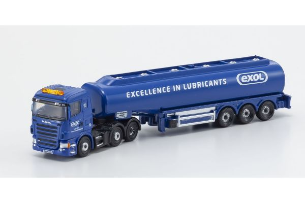 OXFORD 1/148scale Scania Highline Tanker DHL/JET  [No.OXNSHL04TK]