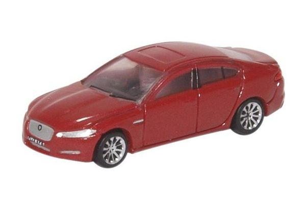 OXFORD 1/148scale Jaguar XF Carnelian Red  [No.OXNXF001]