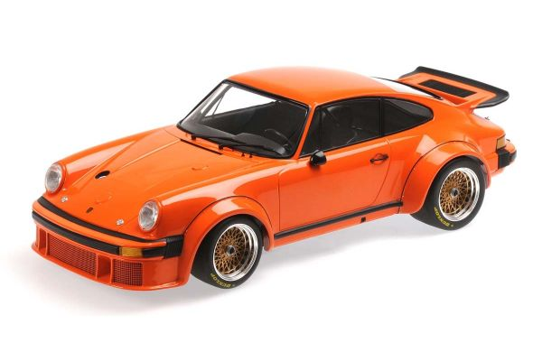 MINICHAMPS 1/12scale PORSCHE 934 - 1976 - ORANGE  [No.125766405]