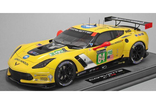 BBR 1/18scale Corvette C7.RS Wins GTE-Pro class (No.64 / Le Mans 2015) Limited 250  [No.P18113]