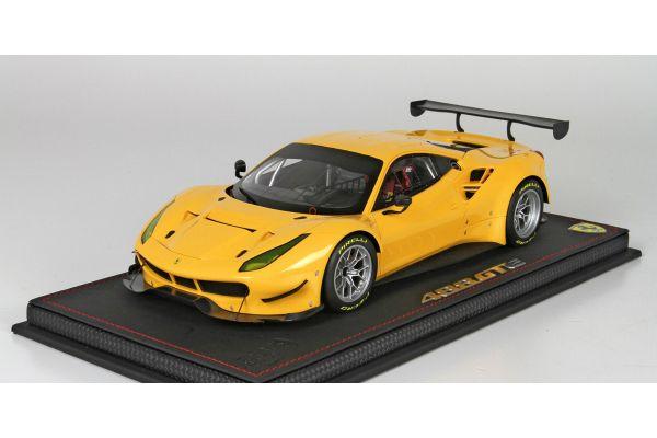 BBR 1/18scale Ferrari 488 GTE 2015 Yellow [No.P18122B]