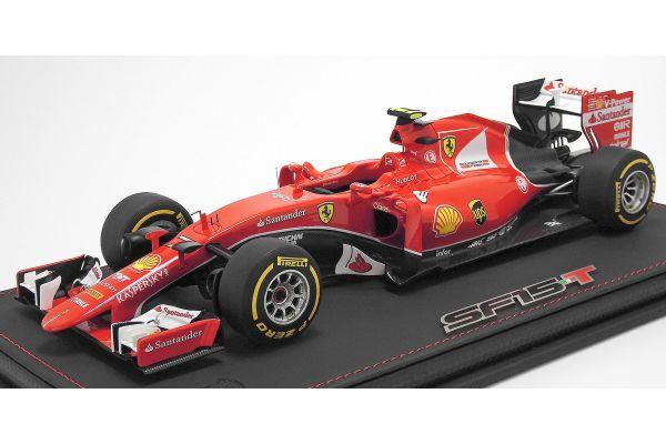 BBR 1/18scale Ferrari SF15-T Singapore GP2015 K. Raikkonen (Limited: 80Pcs)  [No.P18124B]