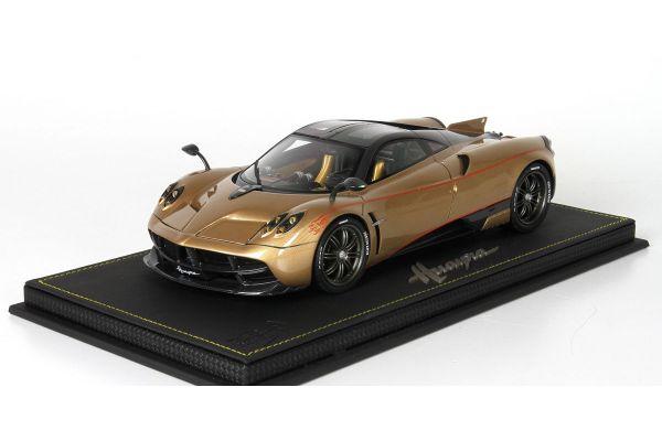 BBR 1/18scale Pagani Dinastia 2015 Gold/Carbon fiber with case [No.P18126B]