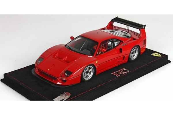 BBR 1/18scale Ferrari F40 LM 1989 Red with case [No.P18131]