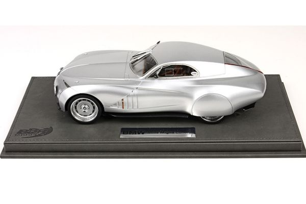 BBR 1/18scale BMW Concept Mille Miglia 2006 with case Silver [No.P1884V]