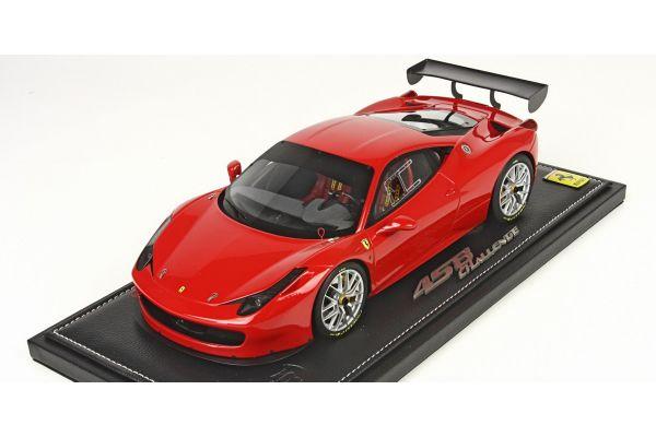 BBR 1/18scale Ferrari 458 Challenge EVO RED [No.P1890RED]