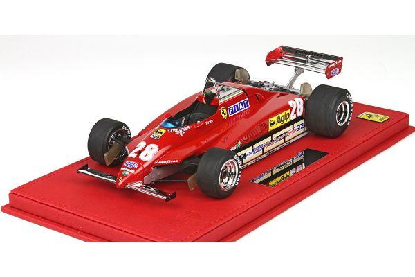 BBR 1/18scale Ferrari 126C2 San Marino GP 1982 D.Pironi No.28  [No.P1894A]