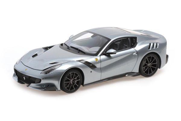 MINICHAMPS 1/18scale Ferrari F12 TDF 2015 GRIGIO TITANO (Silver)  [No.PBBR182104]