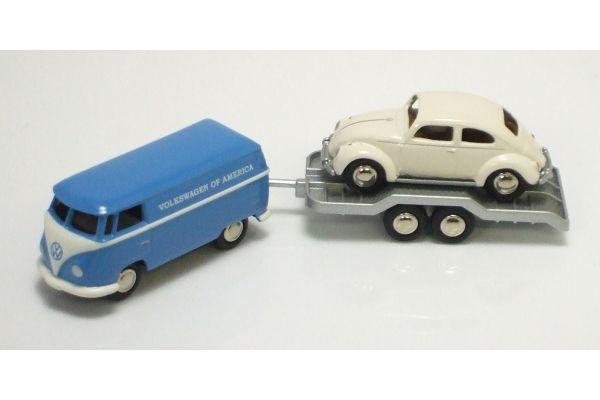 Premium ClassiXXs 1/87scale VW Box Van Trailer  ( Beetle 60