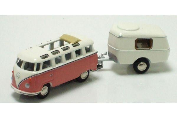 Premium ClassiXXs 1/87scale Volkswagen T1 Samba Bus  with Camping Trailer  [No.PCS06578]