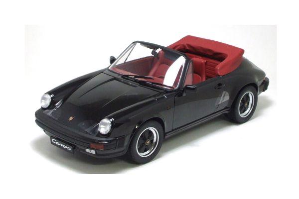 Premium ClassiXXs 1/12scale Porsche 911 Carrera 3.2 Convertible Black [No.PCS10252]