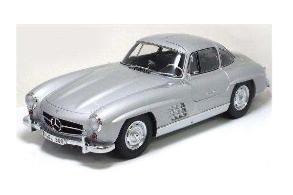 Premium ClassiXXs 1/12scale Mercedes-Benz 300SL Silver [No.PCS10500]